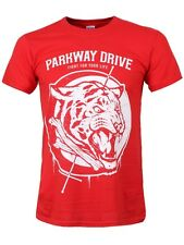 New Parkway Drive Tiger Bones Men's Red T-Shirt - NEW & OFFICIAL