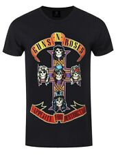 Guns N Roses Appetite For Destruction Men's Black T-shirt