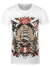 The Amity Affliction Coat Of Arms Men's White T-shirt