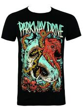 Parkway Drive Sharktapuss Men's Black T-Shirt - NEW & OFFICIAL