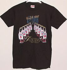 Vintage 92 OLYMPICS Basketball DREAM TEAM Nutmeg SEWN LTRS T-Shirt NWT YOUTH LGE
