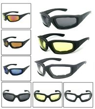 1 or 3 Pair(s) Motorcycle Padded Foam Wind Resistant Riding Glasses Sunglasses
