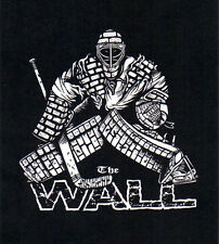 The WALL Hockey Goalie T-Shirt ADULT sizes brick pads gloves mask skates stick