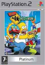The Simpsons: Hit & Run Platinum (PS2), Good Condition PlayStation2, Playstation