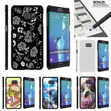 For Samsung Galaxy S6 Edge Plus G928 Case Hard Snap On 2 Piece Unique Designs