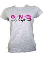 New Girls Night Out Ladies Grey T-Shirt