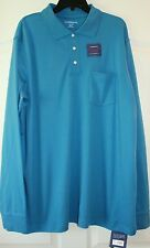 Croft & Barrow~Men Big & Tall Blue Polo Style Easy Care Shirt Size ~LT,XLT ~NWT