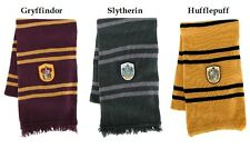Harry Potter Gryffindor Slytherin or Hufflepuff House Lambs Wool Scarf Hogwarts