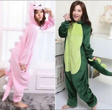 Hot Style Unisex Adult Pajamas Kigurumi Cosplay Costume dinosaur Animal Onesie