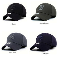 Mens Women Adjustable Plain Baseball Cap Trucker Cap Sport Snapback Hip-hop Hats