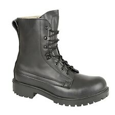 Grafters Mens Leather Padded Assault Boots