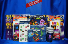 Angry Birds Party Set # 17 Angry Birds in Space Party Supplies Plates Napkins