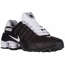 NIKE SHOX NZ 2016 BLACK WHITE GREY MENS RUNNING SHOES **FREE POST AUSTRALIA