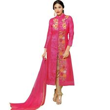 Designer Rich Embroidery Handwork Cotton Salwar Kameez Suit Indian-Advance-2327