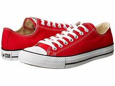 CONVERSE CHUCK TAYLOR ALL STAR RED WHITE 2016 MENS SHOES *ALL SIZES BEST SELLER