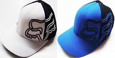 "FOX RACING YOUTH CROSS REFERENCE CURVED BRIM FLEXFIT HAT CAP NEW ""U PICK COLOR"""