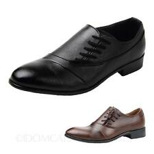 Classic Faux Leather NEW Fashion Oxford Lace Up Wedding Shoes AU sz 5 6 7 8 9
