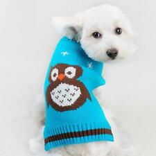 Pet Dog Cat Puppy Clothes Coat Warm Knitted Sweater Apparel Coat Jacket Jumper