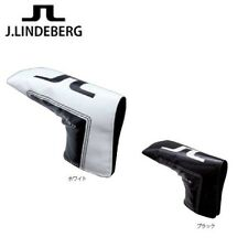 New J.LINDEBERG Putter Cover JL-511 Black or White Pin Type Golf Club Head Japan