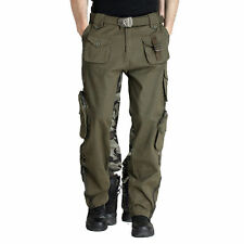 New Women Camo Military Army Combat Outdoor Pants Hiking Camping Sports Trousers