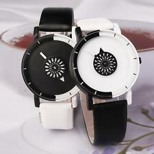 Fashion Charm Women Lady PU Leather Strap Quartz Analog Wristwatch Casual Gift