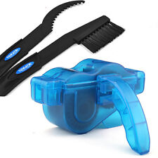 Cycling Bike Bicycle Chain Wheel Wash Cleaner Tool Cleaning Brushes Scrubber Set