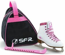 SFR Junior/Kids Figure Ice Skate Pack inc Skates/Bag/Blade Guards JNR 11 - UK 5