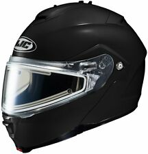 HJC IS MAX II Modular Snow Helmet Gloss Black Electric Shield Free Size Exchange