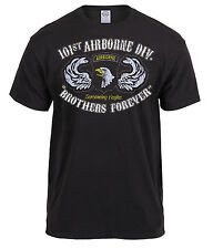military airborne t-shirt screaming eagles 101st ab us army tee rothco 80353