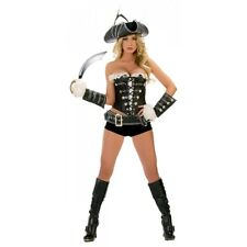 Sexy Pirate Costume Adult Female Halloween Fancy Dress