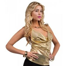 Disco Costume Top Adult 70s Diva Halloween Fancy Dress