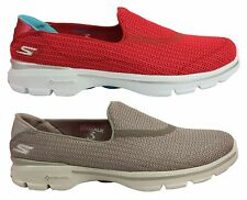 SKECHERS GO WALK 3 WOMENS/LADIES COMFORTABLE LIGHTWEIGHT CASUAL SHOES ON SALE