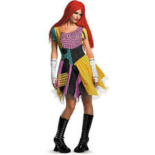 Women's The Nightmare Before Christmas Sally Halloween Costume - Adult Size