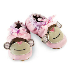Mud Pie Baby PINK MONKEY SHOE 176155 Pretty In Pink Collection Leather