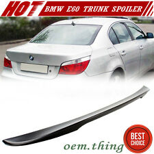 Painted BMW 5-Series E60 4D High Kick Performance Trunk Spoiler 2010 M5 525i