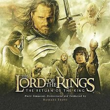 LORD OF THE RINGS: Return of the King CD ( 2003 Soundtrack )