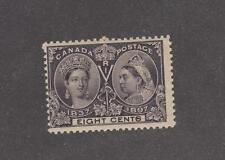 CANADA # 56 FVF-MNH 8cts JUBILEE CAT VALUE $180
