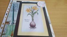 CROSS STITCH CHART SPRING FLOWERS CHART BOTANICAL DAFFODIL NARCISSUS CHART