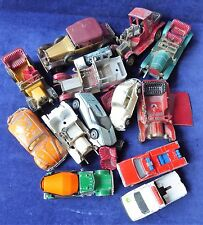 Vintage playworn diecast vehicles mainly Matchbox yesteryear bargain ##RUG68BS