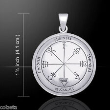 SEALS of SOLOMON the FIRST Pentacle of VENUS by Peter Stone. sterling silver