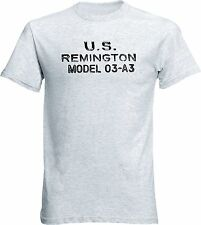 Remington 1903-A3 Rifle Receiver  Stamp WWII T Shirt Handmade Cotton