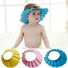 New Soft Shampoo Bath Bathing Baby Kids Children Wash Hair Shield Shower Cap Hat
