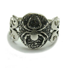 R000849 STERLING SILVER RING SOLID 925 SPIDER