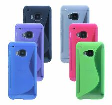 Gel Silicone Cover Silicone Case Case for HTC ONE S9 BLACK BLUE PINK PURPLE