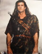 Mel Gibson Signed Autographed 11x14 Photo Bravehart / Lethal Weapon GA 769593