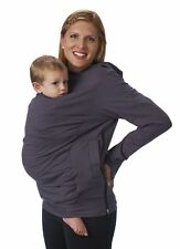New Boba Baby Carrier Cove rGray Hoodie ~ Select Size