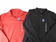 mens croft and barrow sweater casual soft quarter zip pull over long sleeve