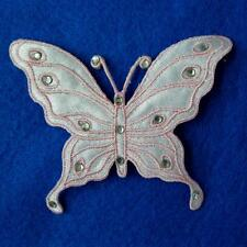 Butterfly Punk Iron on Patch Embroidered Applique Sew Rock Motif Garden Cute Lot