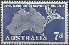 Australia 1957 7d FLYING DOCTOR SERVICE SG 297 Unhinged Mint
