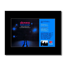 DOVES - Lost Souls Matted Mini Poster - 13.5x21cm